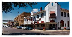 Stockyards District Of Fort Worth Beach Towel