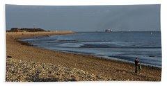 Stokes Bay England Beach Towel
