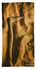 Stone Age Tools Beach Towel