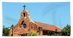 Stone Church New Mexico Beach Towel