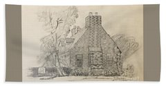 Stone Cottage Beach Towel
