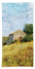 Provence Countryside Beach Towel