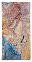 Beach Towel featuring the photograph Stone Pattern by Christina Rollo