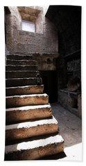 Stone Stairs At Santa Catalina Monastery Beach Towel