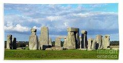 Stonehenge 6 Beach Towel