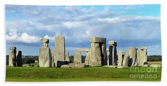 Stonehenge 6 Beach Towel