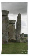 Stonehenge Side Pillars Beach Sheet
