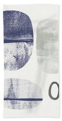 Stones 1- Art By Linda Woods Beach Towel