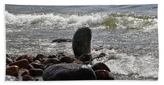 Stones Beach Towel