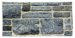Stonewalling Beach Towel by Sandy Taylor