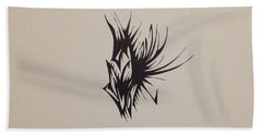 Insect On Flower Beach Towel