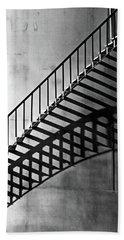 Storage Stairway Beach Towel