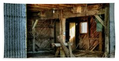 Storied Interior Beach Towel by Jerry Sodorff