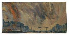 Storm 18012018 Amstel Amsterdam Beach Sheet