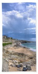Storm Approaching Porthleven Beach Towel