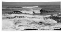 Storm Breakers Beach Towel