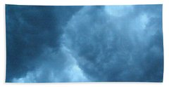 Beach Towel featuring the photograph Storm Clouds by Angie Rea