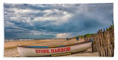 Storm Clouds In Stone Harbor Beach Towel
