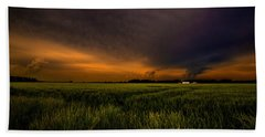 Storm Front  Beach Towel