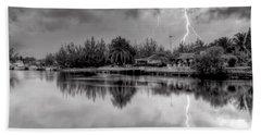 Storm In Paradise Beach Sheet