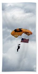 Storm Jump Beach Towel
