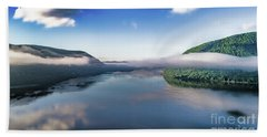 Storm King And The Highlands Beach Towel