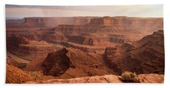 Storm Over Canyonlands Beach Towel
