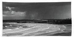 Storm  Over The Bay Beach Sheet