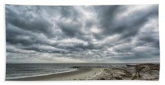 Storm Rolling In Beach Towel