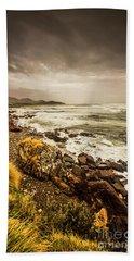 Storm Season Beach Towel