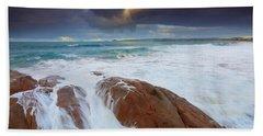 Storm Tides Beach Towel