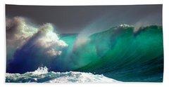 Storm Wave Beach Towel