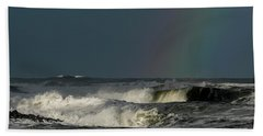 Stormlight Seaside Cove Beach Towel