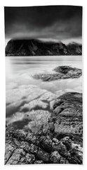 Stormy Lofoten Beach Towel