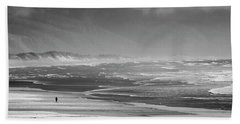 Stormy Oceanside Oregon Beach Towel by Amyn Nasser
