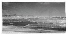 Stormy Oceanside Oregon Beach Sheet