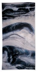 Stormy Rhythms Beach Towel