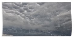Beach Towel featuring the photograph Stormy Skies In Wyoming by Sandra Bronstein