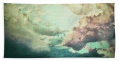Stormy Sky Beach Towel by AugenWerk Susann Serfezi