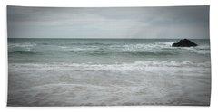 Stormy Sky Beach Towel
