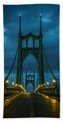 Stormy St. Johns Beach Towel by Wes and Dotty Weber