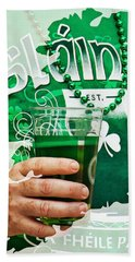 St. Patrick's Day Beach Towel