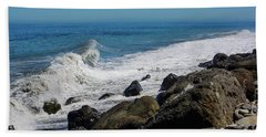 Beach Towel featuring the photograph Strait Of Juan De Fuca by Tikvah's Hope