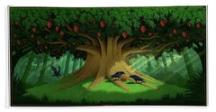 Strange Fruit Beach Towel