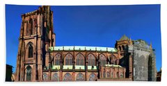 Strasbourg Catheral Beach Towel