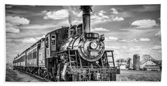 Beach Sheet featuring the photograph Strasburg Canadian National 89 by Nick Zelinsky