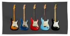 Stratocaster Beach Towel