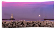 Strawberry Moon Beach Towel