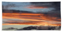 Streaky Sunset Beach Towel