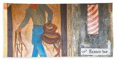 Beach Towel featuring the photograph Street Art - Melba, Id by Dart Humeston
